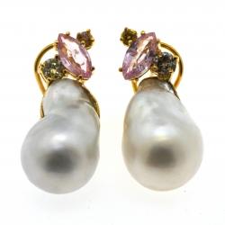 Baroque Australian pearl...