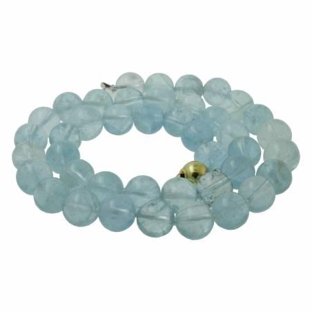Aquamarines necklace