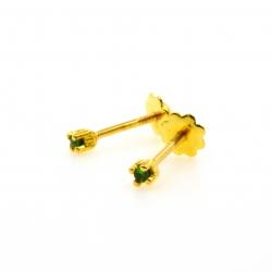 Tsavorite and yellow gold...