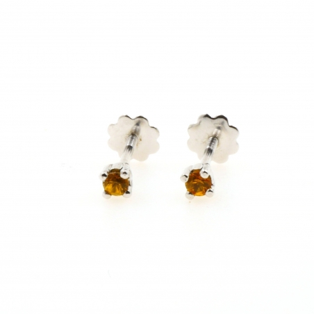Yellow sapphires and white...