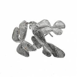 Broche Mariposas Plata Pulida