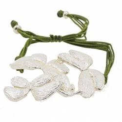 Silver Butterflies Bracelet