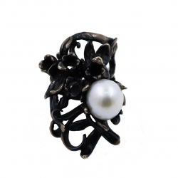 Branches and Pearl Ring
