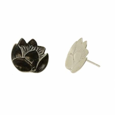 Polished Silver Lotus...